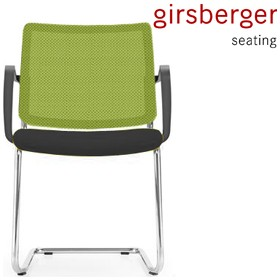 Girsberger Yanos Colours Mesh Cantilever Meeting Chair £214 - Office Chairs