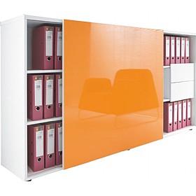 Awesome Oxide Sliding Door Storage Cabinet ...