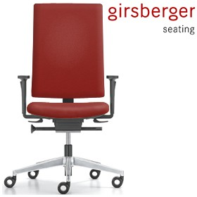 Girsberger Yanos Leather Office Chair £474 - Office Chairs