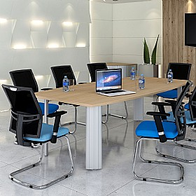 Elite Kassini Double D End Conference Tables £774 - Office Desks