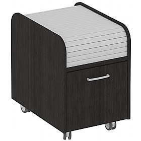 Elite Kassini Mobile Tambour Filing Pedestals £398 - Office Desks