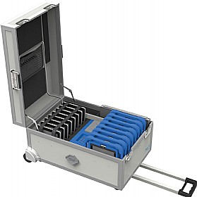 GoCabby Tablet Store And Charging Trolley £877 - Office Cupboards