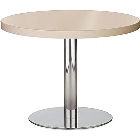 Lara Inox Low Melamine Table £161 - Bistro Furniture