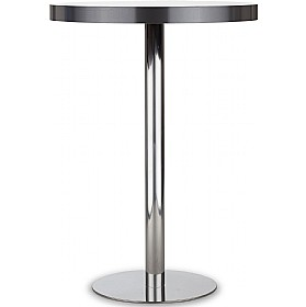 Lara Inox High Aluminium Edged Bistro/Bar Table ...