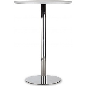 Lara Inox High Melamine Bistro/Bar Table £193 - Bistro Furniture