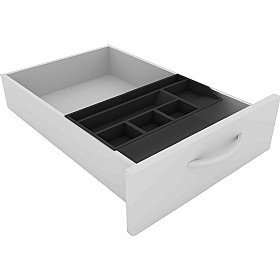 Elite Kassini Standard Pedestal Stationery Tray £36 - Office Desks