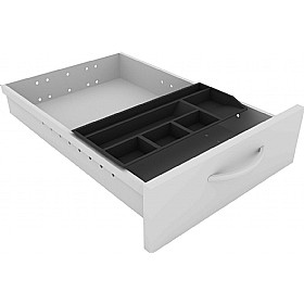Elite Kassini System Pedestal Stationery Tray £36 - Office Desks