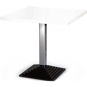 Squerto Square Melamine Bistro Table £179 - Bistro Furniture