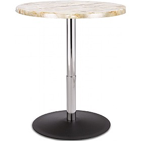 Up & Down Height Adjustable Topalit Bistro Table £122 - Bistro Furniture