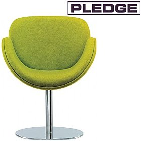 Pledge Spirit Tub Chair With Round Pedestal Base £505 - Reception Furniture