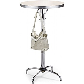 Hanger High Aluminium Edged Melamine Bistro Table £116 - Bistro Furniture