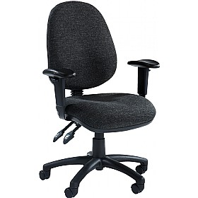 Source Synchro High Back Operator Chair £77 - Office Chairs