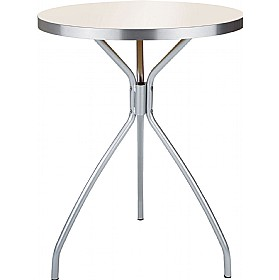 Dona Aluminium Edged Melamine Bistro Table £94 - Bistro Furniture