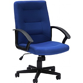 Source Fabric Manager Chairs £83 - Office Chairs