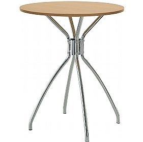 Dona 4-Leg Veneer Bistro Table £156 - Bistro Furniture