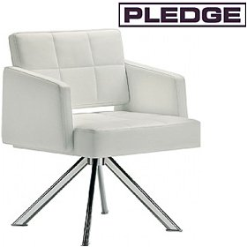 Pledge Xross Armchair £360 - Reception Furniture