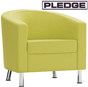 Pledge Bing Single Seat Tub Chair £500 - Reception Furniture