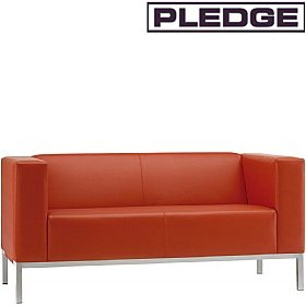 Pledge Box Two Seater Sofa £903 - Reception Furniture