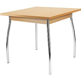 Dorino Square Veneer Bistro Table £205 - Bistro Furniture