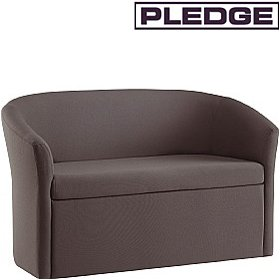 Pledge Nova Two Seater Closed Front Tub Chair £571 - Reception Furniture