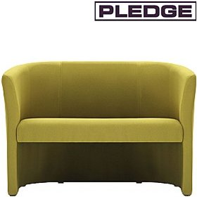 Pledge Nova Two Seater Open Front Tub Chair £581 - Reception Furniture
