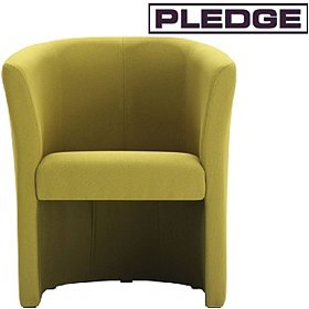 Pledge Nova Single Seat Open Front Tub Chair £342 - Reception Furniture