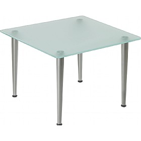Pledge Nova Square Glass Coffee Table £199 - Reception Furniture