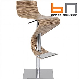 BN Madras Wood Veneer Bistro Stool £368 - Bistro Furniture