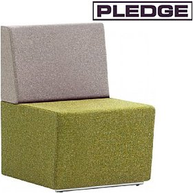 Pledge Fifteen Low Back Modular Reception Seating £392 - Reception Furniture