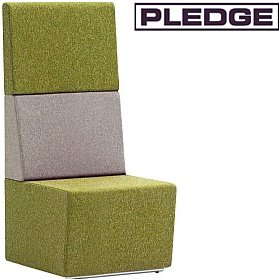 Pledge Fifteen High Back Modular Reception Seating £612 - Reception Furniture