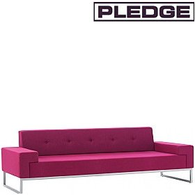 Pledge Hub Three Seater Sofa £1587 - Reception Furniture