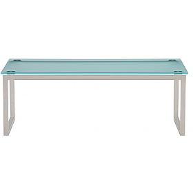 Pledge Hub Frosted Glass Coffee Table £463 - Reception Furniture