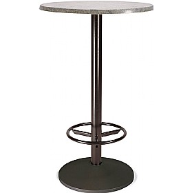 Florida High Round Topalit Bistro Table - Round Base £141 - Bistro Furniture
