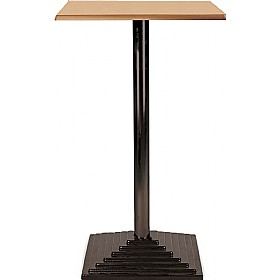 Florida High Square Topalit Bistro Table - Square Base £167 - Bistro Furniture