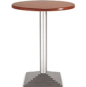 Florida Round Topalit Bistro Table - Square Base £155 - Bistro Furniture