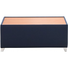 Sven X-Range Coffee Table With Wooden Top £196 - Office Chairs