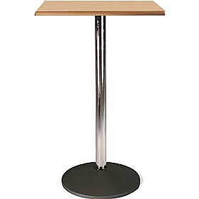 Florida High Square Topalit Bistro Table - Round Base £161 - Bistro Furniture