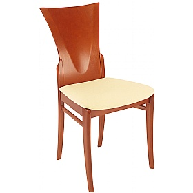 Cracow Upholstered Wooden Dining Chair £184 - Bistro Furniture
