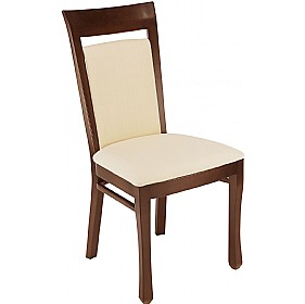 Lisbon Upholstered Wooden Dining Chair £209 - Bistro Furniture