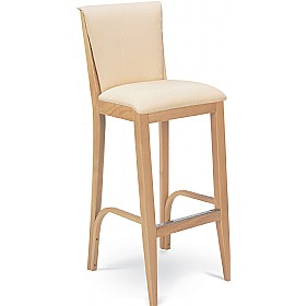 Florence Upholstered Wooden Bar Chair £233 - Bistro Furniture