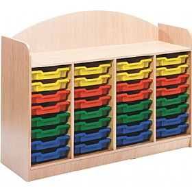 Stretton 32 Shallow Tray Storage Unit £319 - Education Furniture