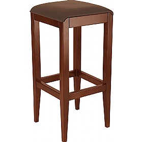 Florence Upholstered Wooden Bar Stool £142 - Bistro Furniture
