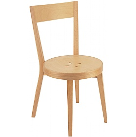Palermo Wooden Dining Chair £188 - Bistro Furniture