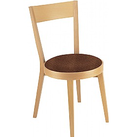 Palermo Upholstered Wooden Dining Chair £212 - Bistro Furniture