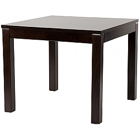 Modern Square Wooden Dining Table £303 - Bistro Furniture