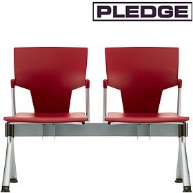 Pledge Ikon Polypropylene Beam Seating £299 - Office Chairs