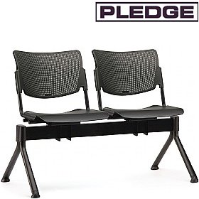 Pledge Mia Polypropylene Beam Seating £291 - Office Chairs