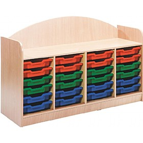 Stretton 24 Tray Quad Bay Storage Unit £0 - Education Furniture