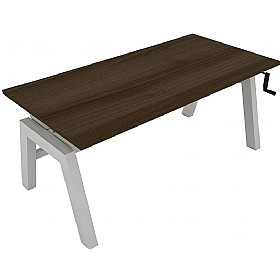 Elite Linnea Elevate Height Adjustable Single Bench Desks £1112 - Office Desks