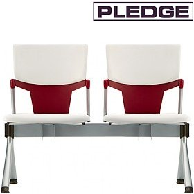 Pledge Ikon Upholstered Beam Seating £360 - Office Chairs